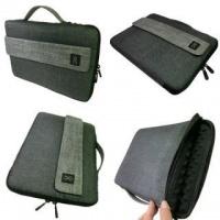 "Casepax Case Pax 14.1"" Laptop Sleeve - Black/Grey Photo"