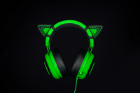 Razer : Kitty Ears For Kraken - Green Photo
