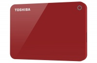 Toshiba External Harddrive Canvio Advance 2TB - Red Photo