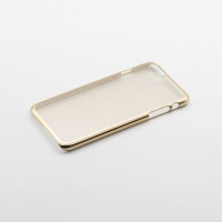Tellur Hard Case Cover for iPhone 6/6S Horizontal Stripes - Gold Photo