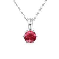 Destiny Ruby Necklace with Swarovski Crystal Photo