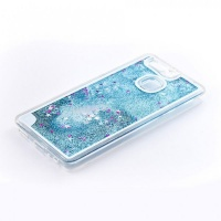 Tellur Hard Case Cover for Huawei P9 Glitter - Blue Photo
