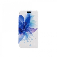 Tellur Folio Case for Huawei Y6 2015 - Blue Flower Photo