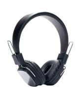 Remax RM-100H Aluminium Trim Headphone - Black Photo