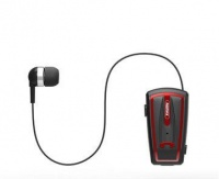 Remax Clip On Headset & Handsfree Bluetooth in one - Black Photo