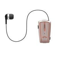 Remax Clip On Handsfree Bluetooth Earphone - Rose Gold Photo