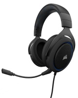 Corsair HS50 Stereo Gaming Headset - Blue Photo