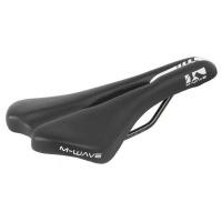 M-Wave Comp V Bicycle Saddle - Black Photo