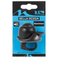 M-Wave Bella Mini Bicycle Bell - Black Photo