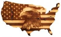 Patriot USA 2 Time zone Wall Clock Photo