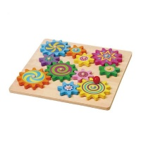 Viga Puzzle & Spinning Gears Photo