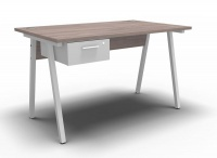 A-Frame Desk with Single Drawer - 1200mmx750mm Photo