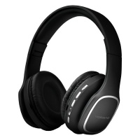 Volkano Phonic Series Bluetooth Headphones - Black Photo