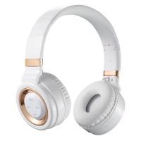 Volkano Lunar Bluetooth Headphones - White & Rose Gold Photo