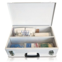 """First Aid Factory Regulation 7"""" Metal Box Photo"""