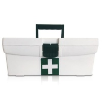 "First Aid Office Regulation 7"" Maji Plastic Box Photo"