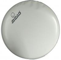 "10"" Jinbao Marching Snare Drum Skin - White Photo"