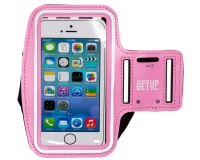 GetUp Connecter Armband Cellphone Holder - Pink Photo