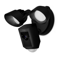 Ring Floodlight Security Camera - Black Photo
