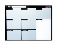 Parrot Weekly Planner Cast Acrylic - 600 x 450mm Photo
