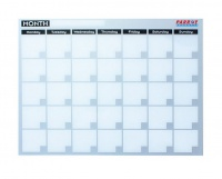 Parrot Monthly Planner Cast Acrylic - 600 x 450mm Photo