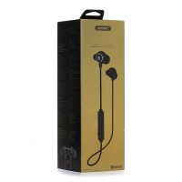 Remax Sporty Bluetooth Earphone - Black Photo