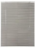 Décor Depot 25mm Aluminium Venetian Blinds - Silver Photo