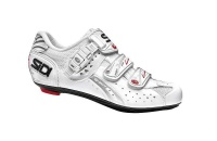 Sidi Men's Genius 5 Fit Carbon Mega Road Cycling Shoes - White Photo
