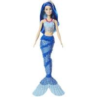 Barbie Mermaid Doll Sparkle Mountain Blue Hair Photo