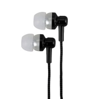 Astrum Electro Painted Earphone with In-Wire Mic - Black Photo