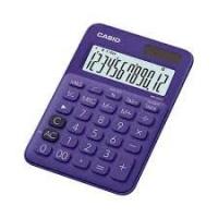 Casio MS-20UC Desktop Calculator - Purple Photo