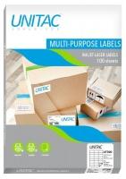 Unitac: Inkjet-Laser Multi-Purpose Labels UT300- 24 Up Photo