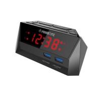 Beare Digital Alarm Clock Led Display 2 Usb - Red Photo