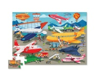 Busy Airport Puzzle - 50 Pack Photo