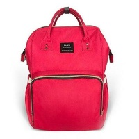 Diaper Backpack - Red Photo