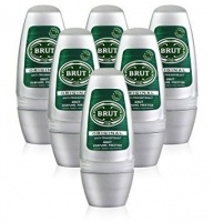 Brut Anti Perspirant Roll-On Original - 6 x 50ml Pack Photo