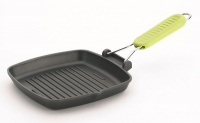 Risoli - 20cm Saporelax Grill Pan - Yellow Handle Photo