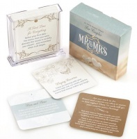 Christian Art Gifts Boxed Cards MR & Mrs Photo
