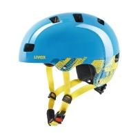 uvex kid 3 Blackout-Blue Sports Cycling Helmet Photo