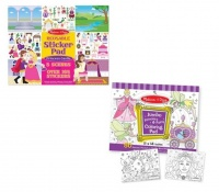 Melissa & Doug Fairy & Castle Sticker - Set of 2 Photo