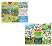 Melissa & Doug Animal & Habitats Sticker - Set of 2 Photo