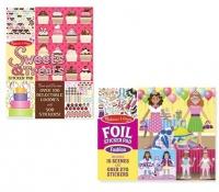 Melissa & Doug Sweets & Fashion Sticker - Set of 2 Photo