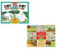 Melissa & Doug Dots & Farm Sticker - Set of 2 Photo