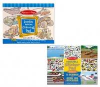 Melissa & Doug Vehicle Colour & Sticker - Set of 2 Photo