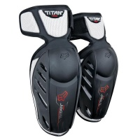 Fox Titan Race Elbow Black Guards Photo