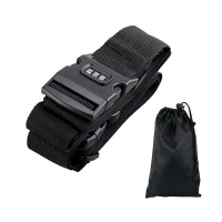 Cross Suitcase Belt with Password Luggage Strap Photo