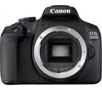 Canon 2000D 24MP DSLR Body Only - Black Photo