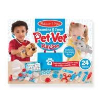 Melissa and Doug Examine and Treat Pet Vet Play Set Photo