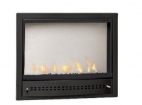CHAD-O-CHEF Hanging Gas Fireplace - Black Facia Photo