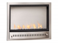 CHAD-O-CHEF Hanging Gas Fireplace - Stainless Steel Photo